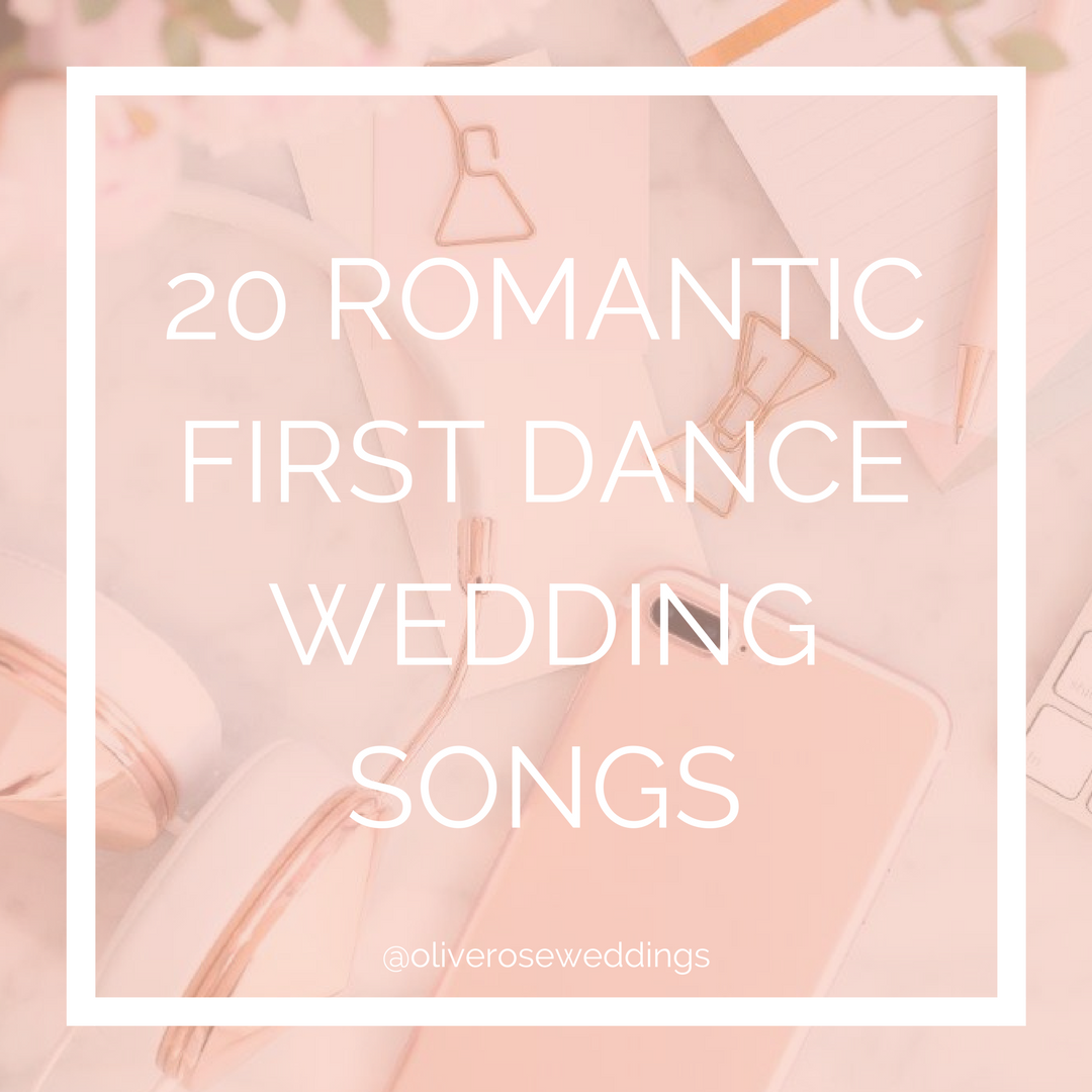 Wedding Songs First Dance.20 Romantic First Dance Wedding Songs Wedding Planner