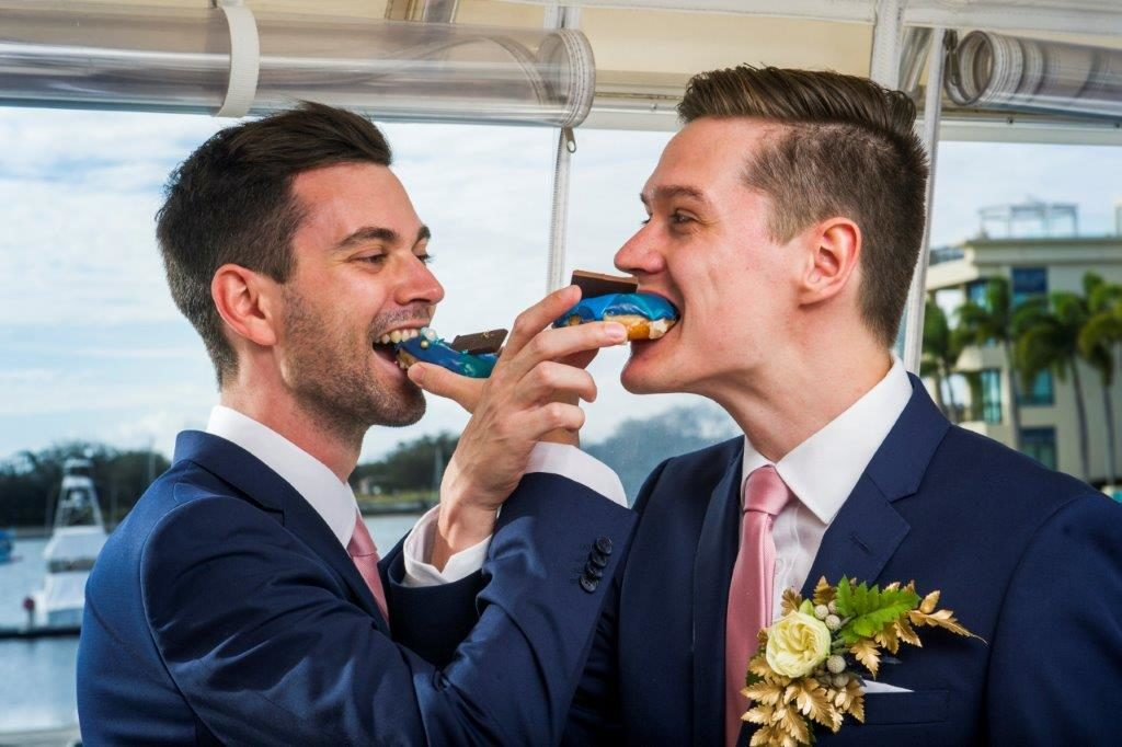 Tying the Knot on a Boat | Luxury Yacht Wedding | Gay | Love is Love