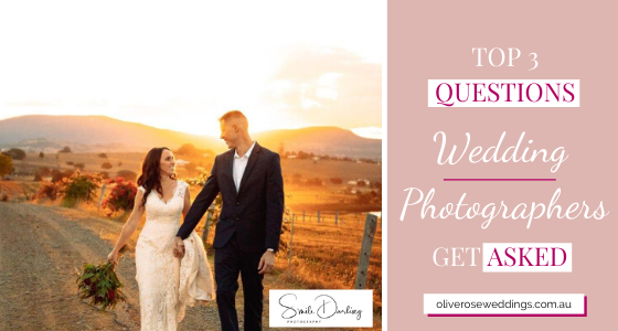 Top 3 Questions Wedding Photographers Get Asked