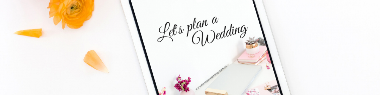 How to Plan a Wedding Workbook