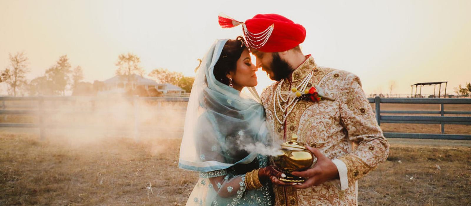 Aladdin styled shoot
