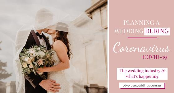 Wedding Planning Coronavirus COVID-19